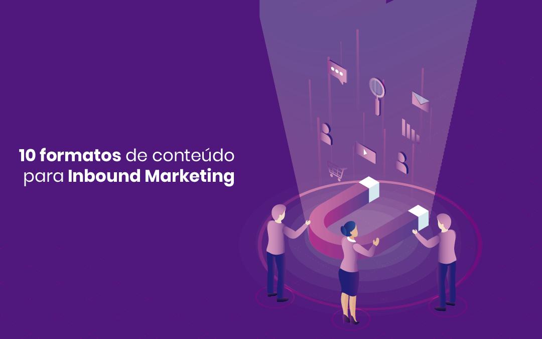 10 diferentes tipos de conteúdo para Inbound Marketing